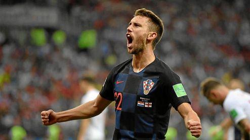 Pivaric ha jugado el Mundial de Rusia con Croacia.