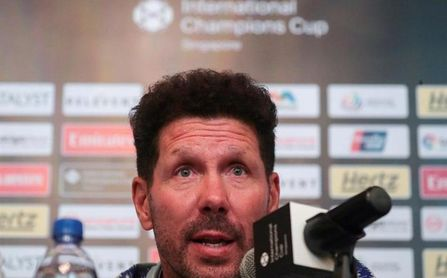 "Simeone:""En un equipo importantísimo, Messi seguramente es mejor que Ronaldo"""