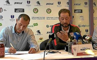 """Machín: """"Sacaremos un equipo competitivo, no nos podemos relajar"""""""