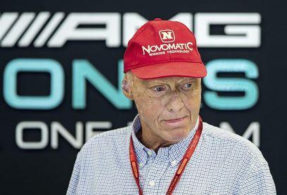 Niki Lauda, en estado grave tras someterse a un trasplante de pulmón