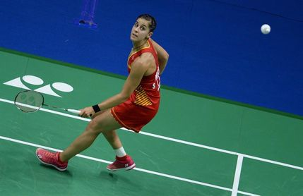 Carolina Marín vence a Nahwal y alcanza semifinales del Mundial de Bádminton