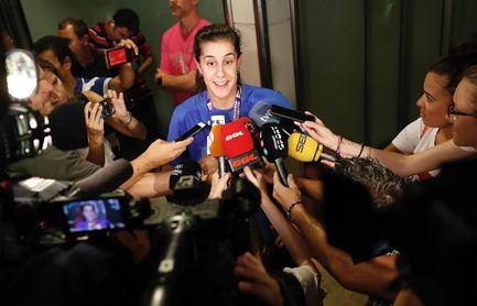Carolina Marín asegura que sería un sueño conseguir el Princesa de Asturias
