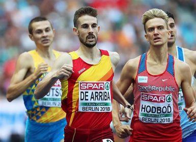 Ordóñez, De Arriba y Andújar a semifinales de 800