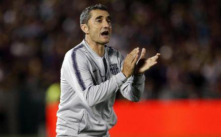 Ernesto Valverde, técnico del FC Barcelona.