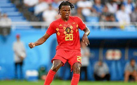 Boyata, en el Mundial con Bélgica.