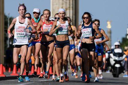 Mazuroniak, de sangre y oro en el maratón femenino