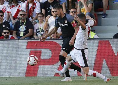 1-4. El Sevilla se pasea en el regreso a Primera del Rayo