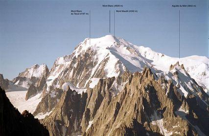 El alcalde del Mont Blanc indignado por el comportamiento de montañeros
