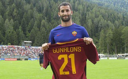 Maxime Gonalons, jugador de la Roma.