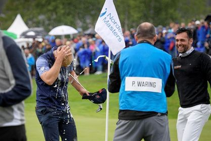 El inglés Waring gana el Nordea Masters en el desempate con Aiken