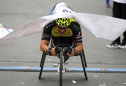 Disabled athletes race to beat their handicaps in Colombia