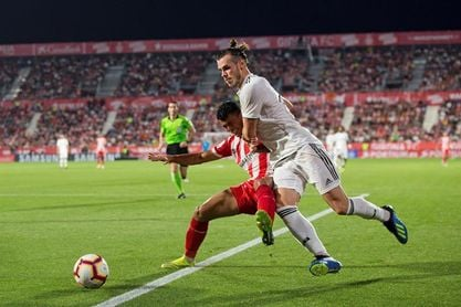 Girona y Real Madrid empatan al descanso