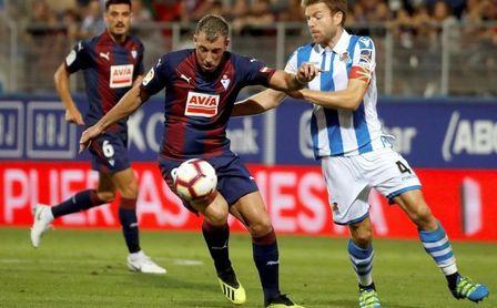 2-1. El Eibar resucita en el derbi