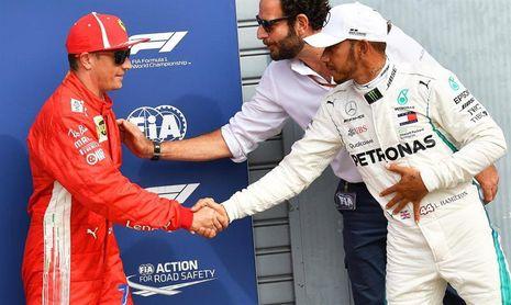 Raikkonen bate el récord de Montoya y saldrá primero en Monza; Sainz, séptimo