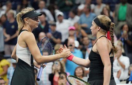 Sharapova arrolla a Ostapenko y se enfrentará a Suárez en octavos