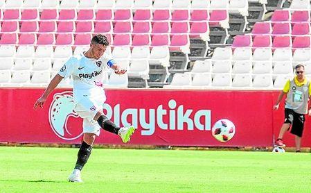 No tuvo suerte el Sevilla Atlético en casa de El Ejido 2012, lo que confirmó su pobre inicio.