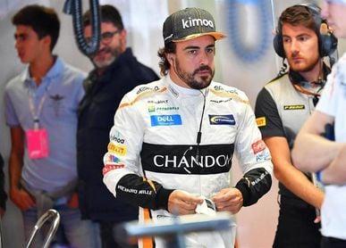 Alonso prueba un Andretti Autosport en el circuito Barber del campeonato IndyCar