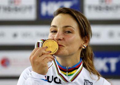 La bicampeona olímpica Kristina Vogel tetraplégica tras un accidente