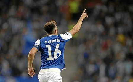 Héctor Herrera, cuyo valor de mercado es de unos 20 millones, acaba contrato en junio.