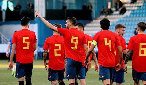 España a concluir con pleno de victorias