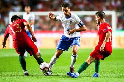 1-0. Portugal gana sin Cristiano a una Italia sin juego