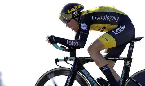 Kruijswijk refuerza la moral en la crono y ya piensa en el podio