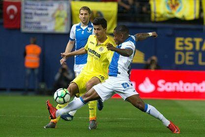 El Villarreal no ha conseguido ganar en el campo del Leganés