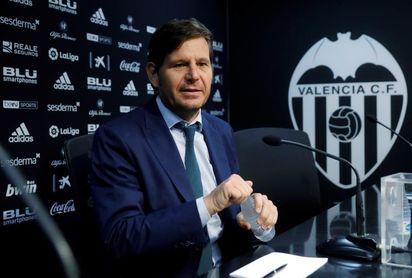 """El director general del Valencia dice que el """"Caso Cheryshev"""" es un error de transcripción"""