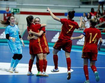 España debuta en Leganés con una aplastante 12-1 sobre Rumanía