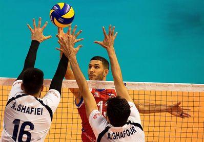 Irán vence en parciales corridos a Puerto Rico en el Mundial de Voleibol