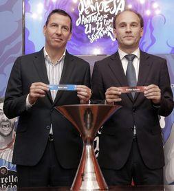 Real Madrid-Obradoiro y Barcelona-Baskonia, semifinales de la Supercopa Endesa