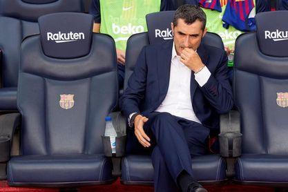 Valverde dirige el último entrenamiento sin los internacionales