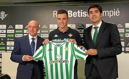 Lo Celso ha sido presentado como nuevo jugador del Betis.