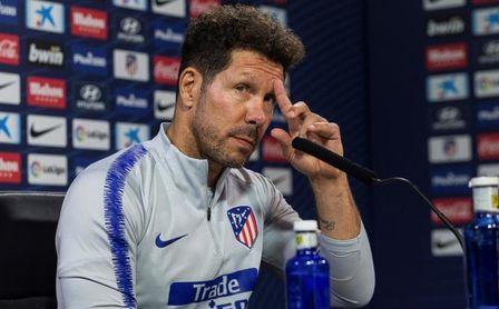 """Simeone: """"Las críticas aparecen a partir del resultado"""""""