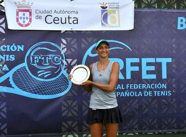 La búlgara Naydenova gana el Internacional de Ceuta a la española Cortez