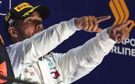 Hamilton acelera hacia su quinto Mundial