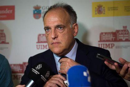 """Tebas: No urge """"ninguna decisión"""" de la FIFA sobre partidos de LaLiga en EE.UU."""