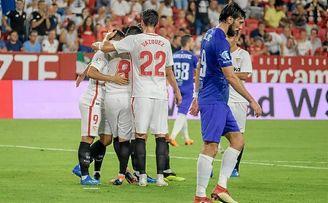Un Sevilla casi infalible en los estrenos