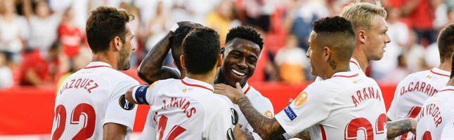 En directo, Sevilla FC 5-1 Standard