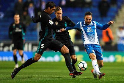El Espanyol no gana al Real Madrid en el Bernabéu desde hace 22 años