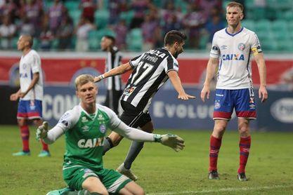 2-1. Bahía se acerca a cuartos tras ganar a un Botafogo que sigue vivo