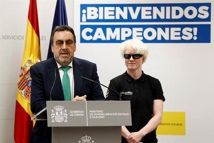"""Carballeda agradece a Siro su """"apuesta comprometida"""" por deporte paralímpico"""