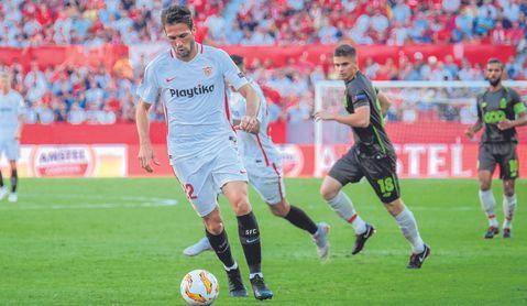 Franco Vázquez fue decisivo ante el Standard.