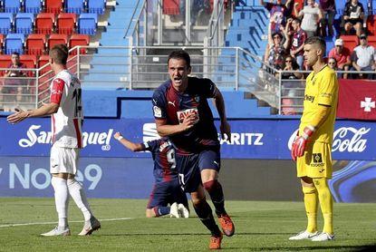 1-0. El Eibar trae de cabeza al Leganés