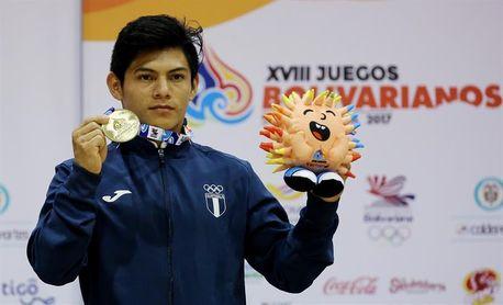 El guatemalteco Jorge Vega va por el oro en la Copa Desafío Mundial de Gimnasia