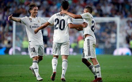 1-0. El Real Madrid gana al Espanyol con un gol de Asensio