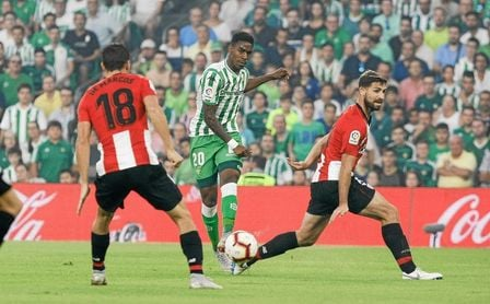 Lance del Betis-Athletic.