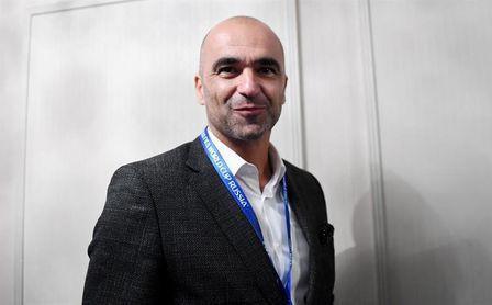 """Roberto Martínez: """"Courtois está en el mejor momento de su carrera"""""""
