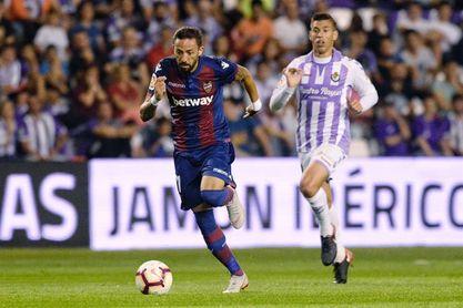 2-1. El Real Valladolid lucha sin descanso y suma su primera victoria