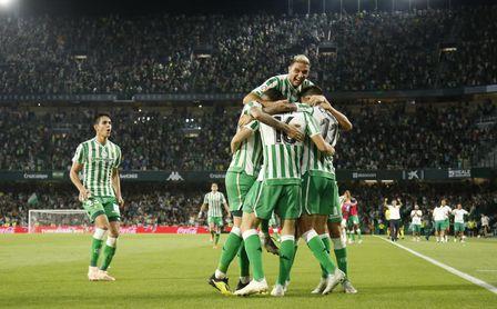 Cada gol que marca el Betis le reporta 2,4 puntos.